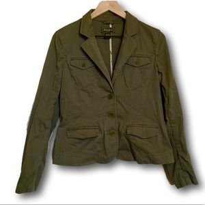 Eddie Bauer Women's Army Green Fashion Blazer